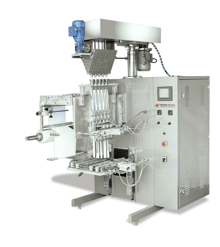 SAFM 20 Stick Type 5-Line Auger System Powder Products Filling Machine