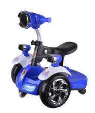2017 hot selling kids electric car / baby balance bike scooter with music and light