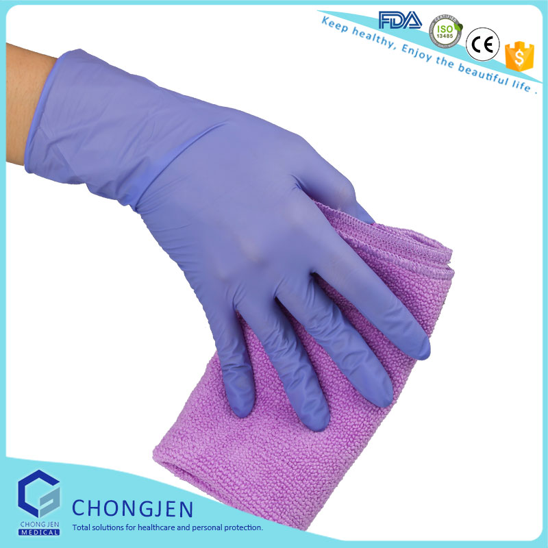 Medical /Industry /Food Grade disposable nitrile gloves malaysia ,nitrile gloves powder free