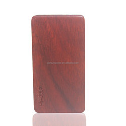 2016 online shopping new trending electronic products disposable wooden battery power bank