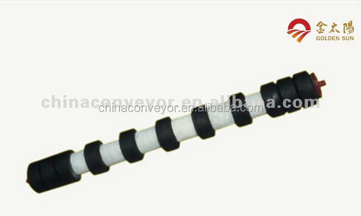Pass ce iso certification sleeve(comb) roller conveyor idler,rubber roller