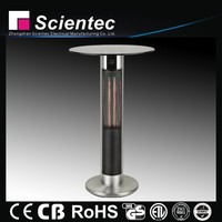 Electric Glass Table Top Carbon Fiber