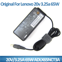 Original 65w laptop ac dc adapter for Lenovo 20v 3.25a ADLX65NCT3A power supply in China