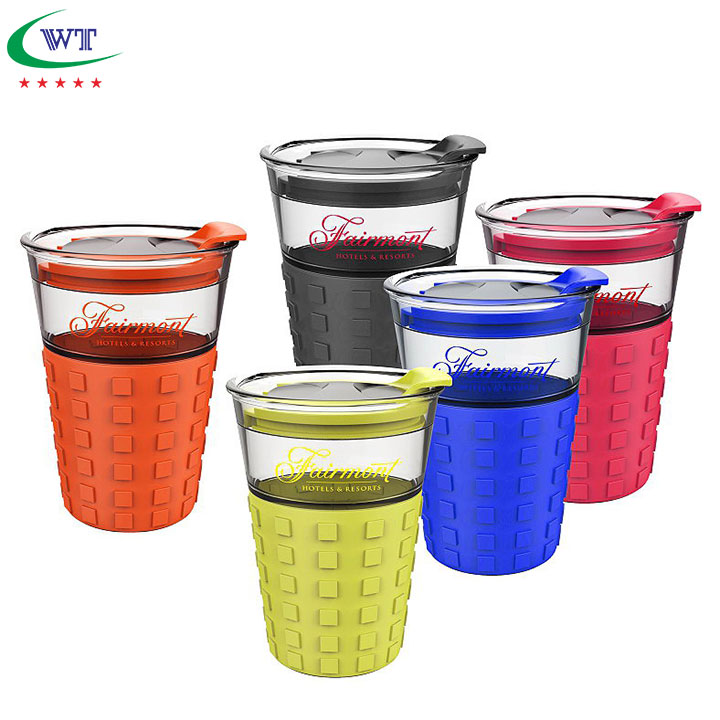 Promotional 12 oz. Plastic Drink Coffee Cup