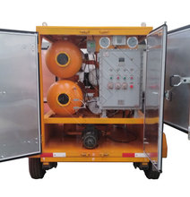 6000 L/H Mobile Vacuum Waste Transformer Oil Purification Machine