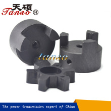 L Jaw flexible coupling/Lovejoy spider coupling/curved jaw coupling/precision machine tools