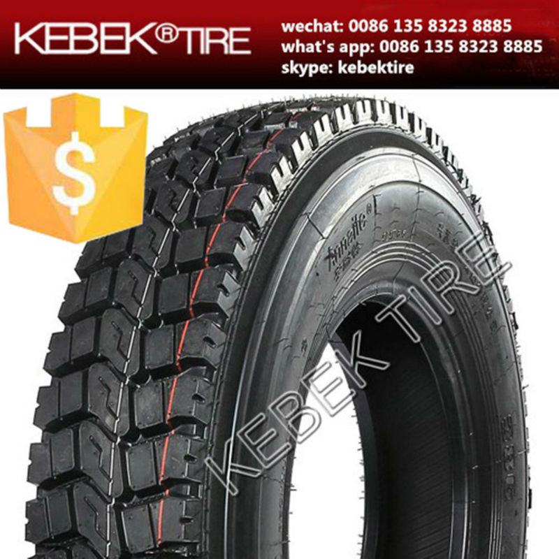 Kebek brand tube type truck tire 9.00x20 sold well in SouthEast Asia