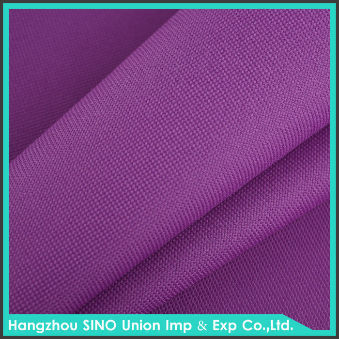 Fabric wholesaler waterproof PVC PEVA material dacron oxford cloth fabric for luggage