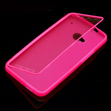 Ebay Hot Selling Full Body 2 in 1 Built In Screen Protector Soft TPU Shell Back Case Cover for HTC One M7