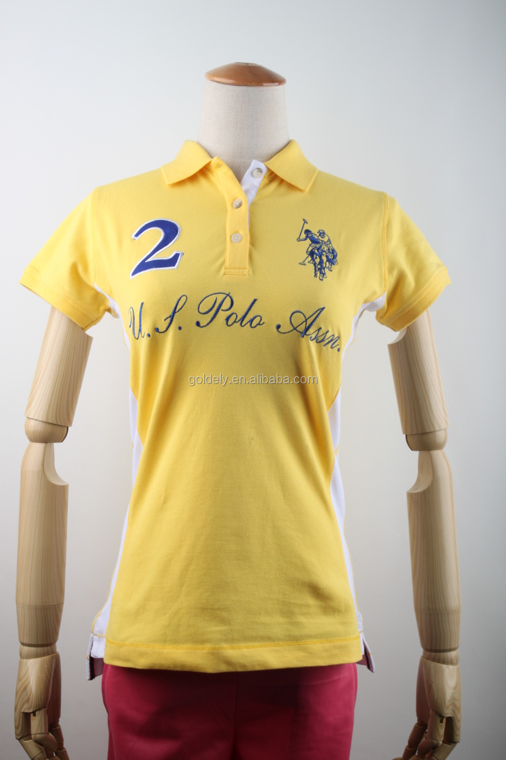Updated unique promotional polo shirt women polo shirt