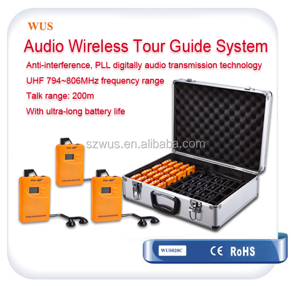 Small type portable china hf ham radio with long distance for Museum and attractions WUS800R
