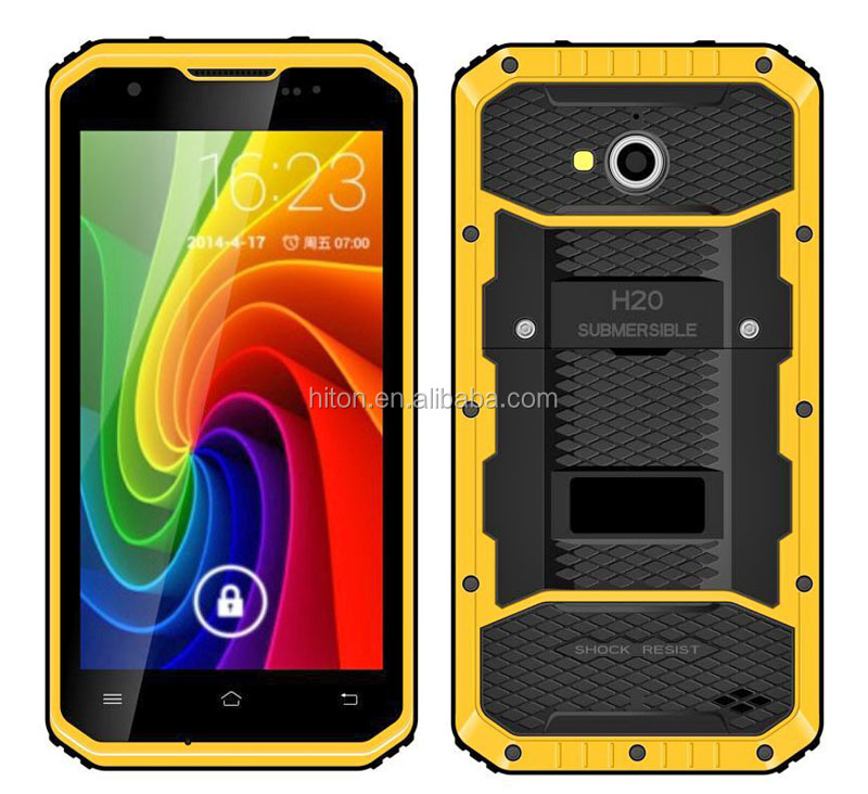 factory cheapest 5inch android 5.1NFC industrial rugged smartphone with 4G LTE industrial 3-proof rugged mobile phone with IP68