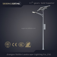 led street lights solar pv module supplier with antique lighting pole