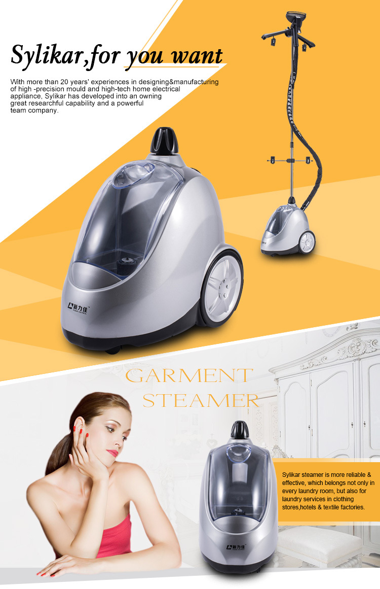 1750W vertical steam iron laundry press machine for sale steam boiler price