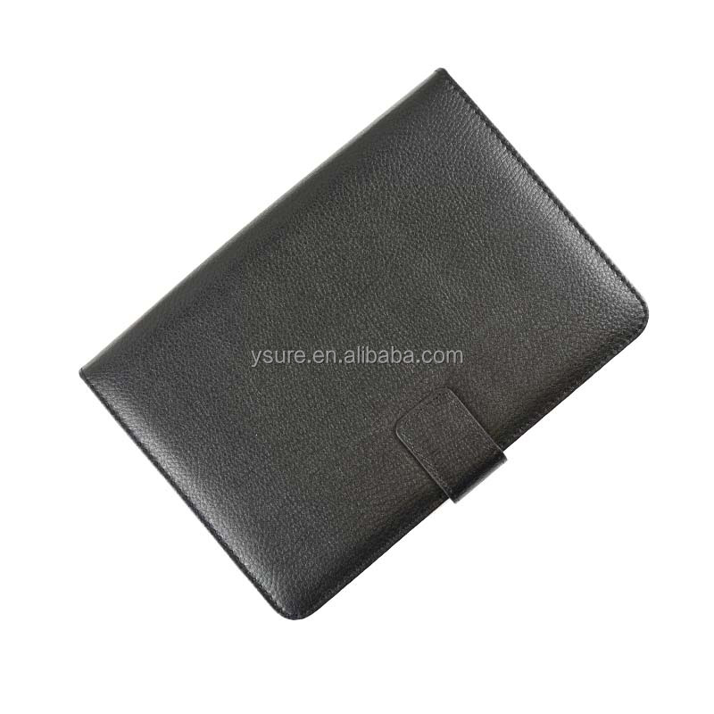 Li Chi pattern leather case for Apple <strong>ipad</strong>, magnet closure and elasticity fixed ,hot wholesales .