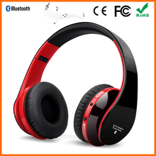 Over ear wireless sport bluetooth heaset with active noise cancelling headphones