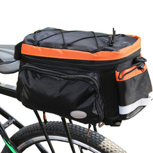 Bike Rear Bag Lengthened Shoulder Strap waterproof Nylon Bicycle Seat Trunk Bag