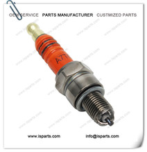 Spark Plug A7TC GY6 50cc-125cc Moped Scooter Parts With Red Color