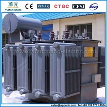 66kV Oil filled electric Power Transformer transformer oil tank