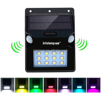 solar light for house decoration solar garden lamp Energy saving with motion sensor light