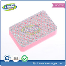 Abrasive duty scrubbing cleaner kitchen sponge scouring pad