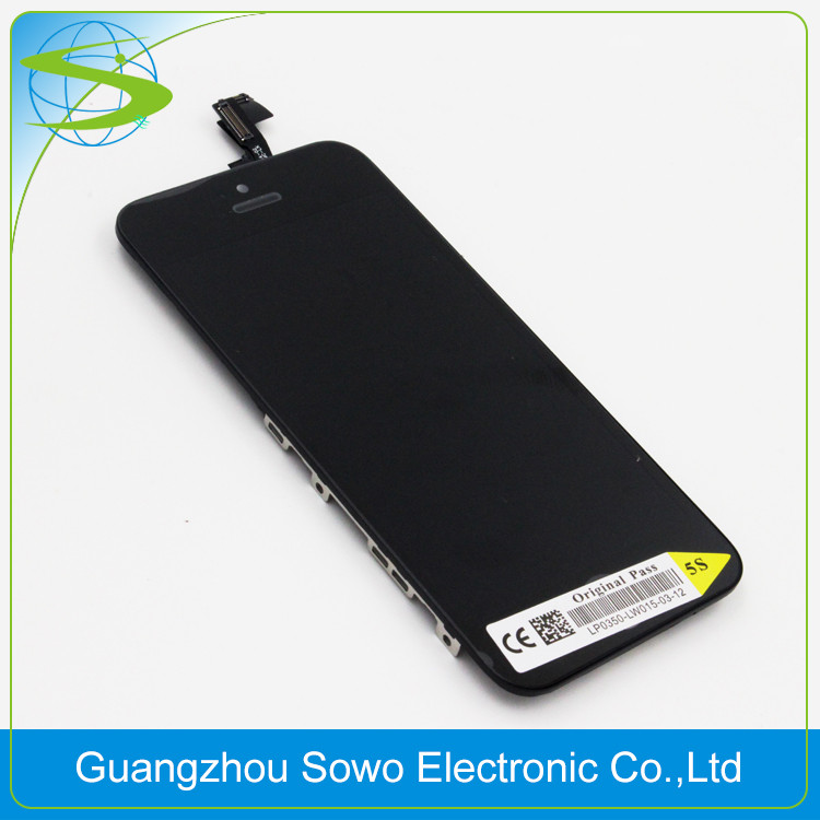 for apple iphone 5s OEM lcd screen, for iphone 5s lcd low price spare parts