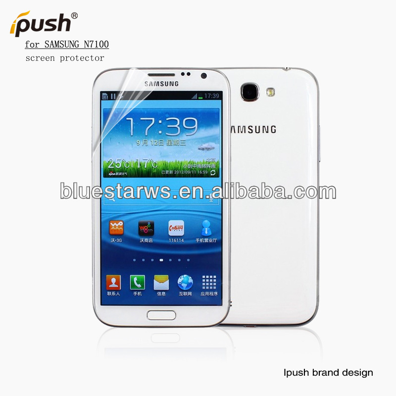 Ultra Clear Shield Skin for Samsung Galaxy Note II 2 - Screen Protectors Film Guard N7100