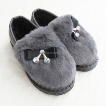 Autumn and Winter latest outdoor women snow boots casual ladies warm fur flat shoes