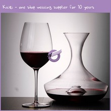 KA730 Restaurant Wine Glass Charms Crystal Glassware For Home Goods