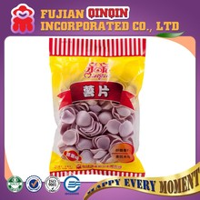 100g brands halal snacks purple sweet potato chips