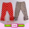 Hot Sell Baby Clothes Cotton Toddler Newborn Baby Triple Ruffle Pants Wholesale Kids Leggings Icing Cotton Baby Ruffle Pants