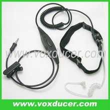For Yaesu Vertex cb radio VX120 VX6R/E fire communication equipment throat vibration mic