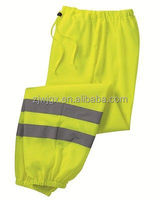 HIGH VIS MESH PANTS Reflective Safety Green Yellow