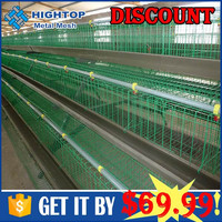 Poultry chicken farm used broiler cage with free chicken house design