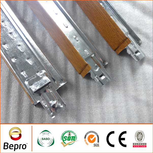 High quality gypsum main tee ceiling T runner in China factory directly Bepro brand