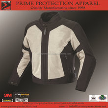 Top Quality Motorcycle Jacket with breathable Mesh and CE Approved Armors