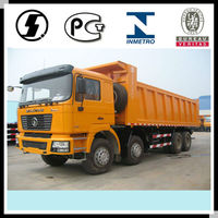 SHACMAN and HOWO 8*4 Heavy Lorry Truck Weight