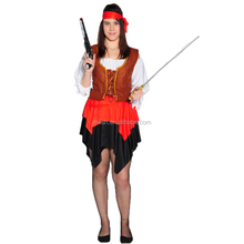 Party Carnival sexy caribbean pirate costume women MAA-45