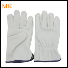Premium Cowhide Grain Leather work Driver Glove