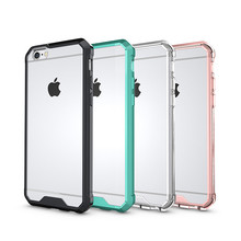 2017 New design Shockproof Hybrid Tpu Clear PC Hard Case For Apple iPhone 7 7plus