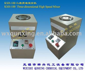 KSH-100 three dimensional high speed mixer lab mixer machine