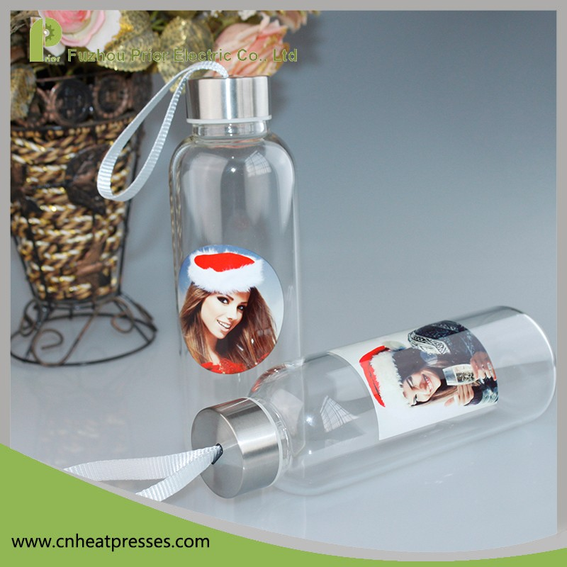 420ml High Quality Eco High Borosilicate Glass Sport Drinking Water Bottle