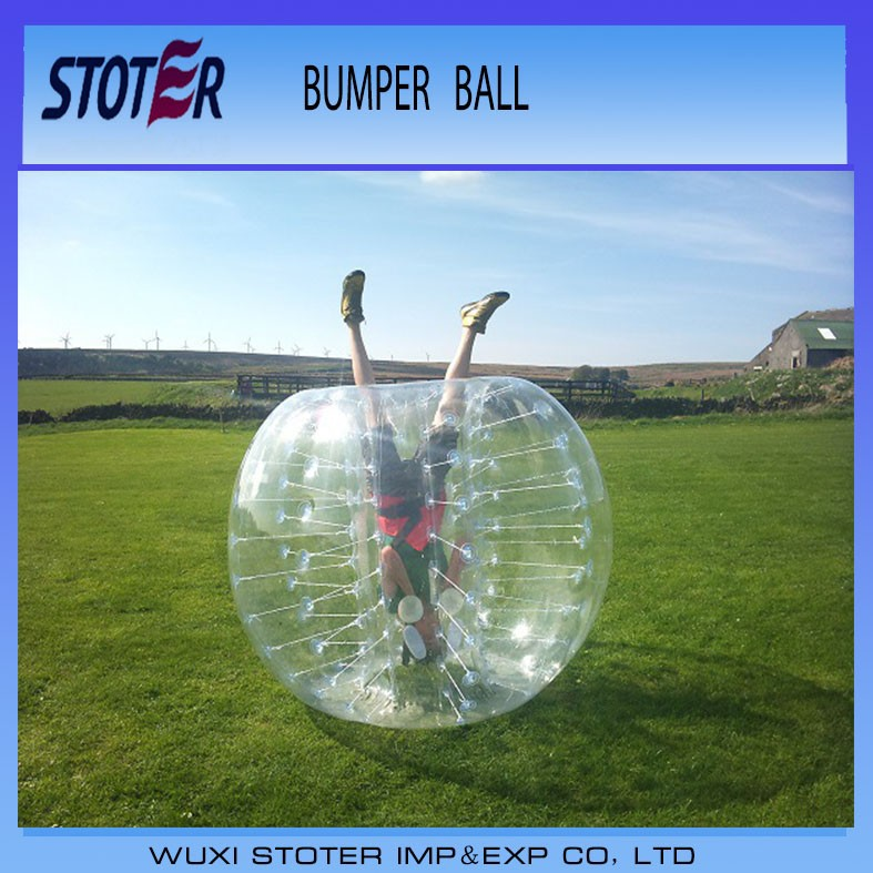 2015 Popular and Crazy inflatable bumper ball
