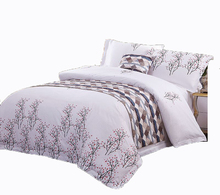 Factory Directly Supply Hotel Bedding Comforter Cotton Print Bedding Sets Luxury