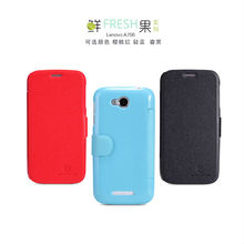 For Lenovo A706 Fresh Series Leather Case