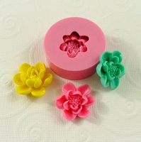 Safe and non-toxic silicone Wedding cake Flower silicone molds baking tools wilton