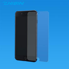 Custom made full cover 9h anti blue light tempered glass screen protector for iphone 7 / 8