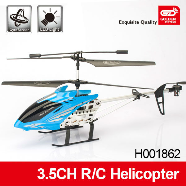 Innovative 3.5CH Alloy RC Helicopter 2013 with gyro and light