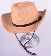 2017 new design fashion wide brim plain paper straw panama hat