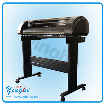 Trademark contour paper sticker cutting plotter